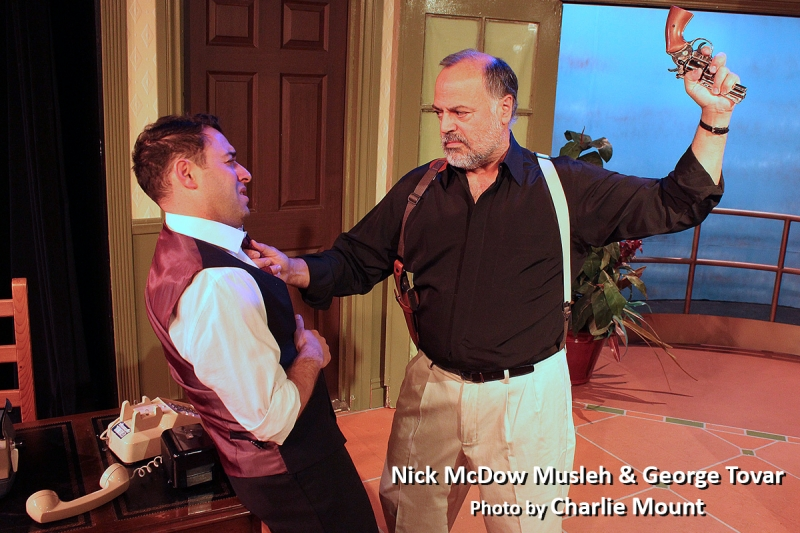 BWW Interview: OUR MAN Mark Wilding's Always Writing - Whether IN SANTIAGO Or With Ellen's Puppy