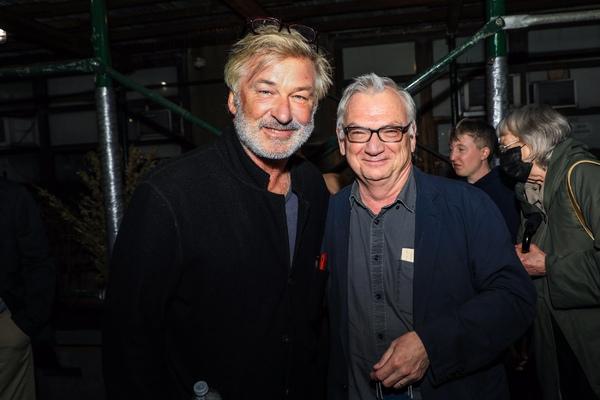 Alec Baldwin and Richard Nelson Photo