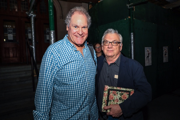Jay O. Sanders and Richard Nelson Photo