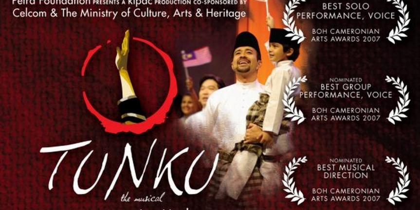 Kuala Lumpur Performing Arts Center Streams TUNKU THE MUSICAL Photo