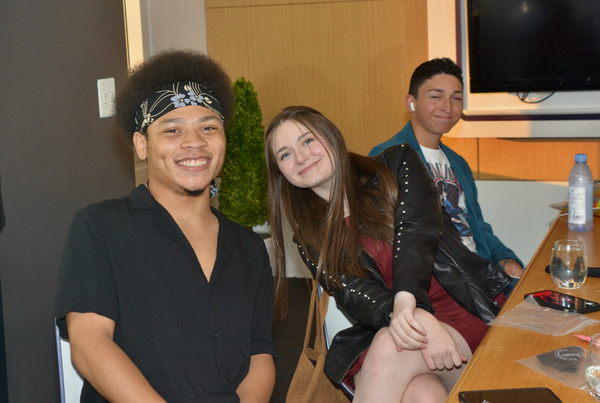 Marquise Neal, Bella Retter and Matteo Russo Photo