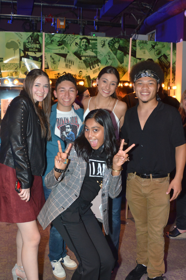 Bella Retter, Matteo Russo, Sway Bhatia, Victoria Csatay and Marquise Neal Photo