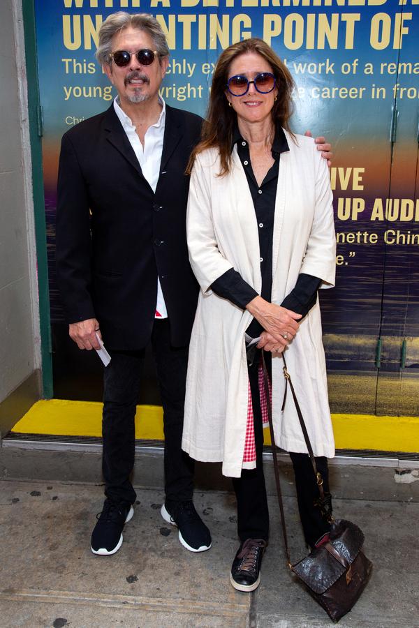 Elliot Goldenthal, Julie Taymor Photo