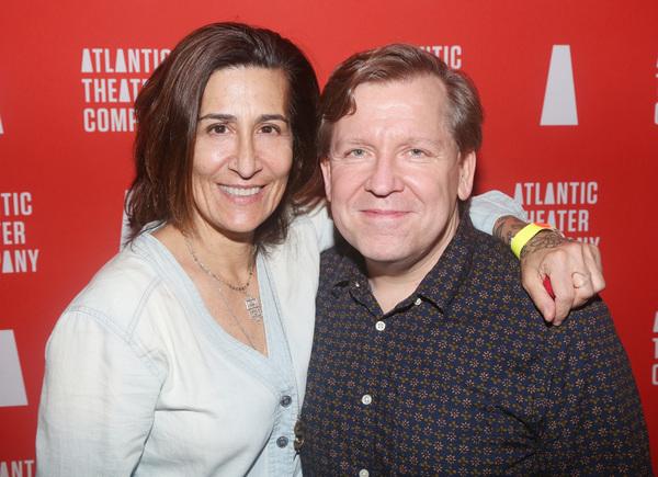 Jeanine Tesori and David Lindsay-Abaire  Photo
