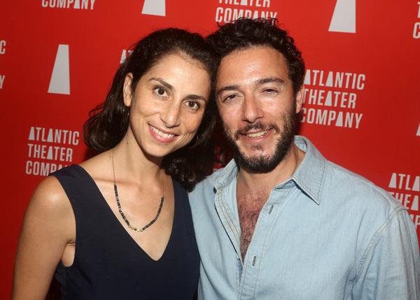 Deborah Brown and  Hadi Tabbal  Photo