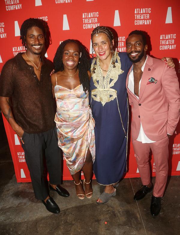 Xavier Scott Evans, Ngozi Anyanwu, Director Patricia McGregor and Daniel J Watts Photo