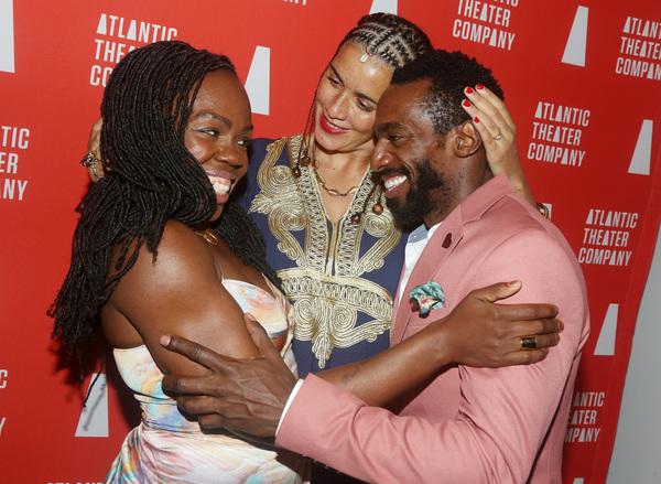 Playwright/Actress Ngozi Anyanwu, Director Patricia McGregor and Daniel J Watts Photo