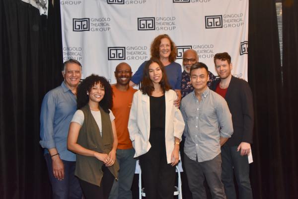 The Cast- Robert Cuccioli, Katya Cullazo, Alvin Keith, Nicole King, Karen Ziemba, Rap Photo