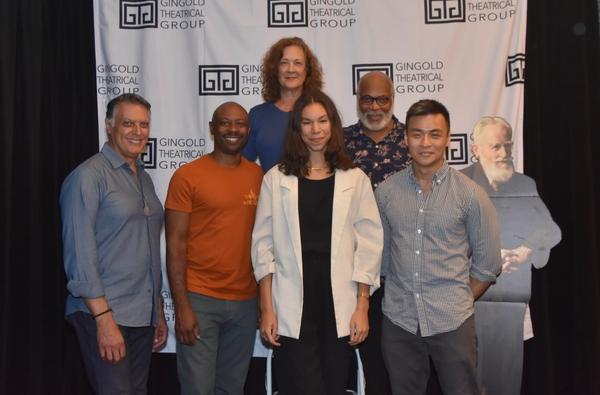 Robert Cuccioli, Alvin Keith, Karen Ziemba, Nicole King, Raphael Nash Thompson and Da Photo