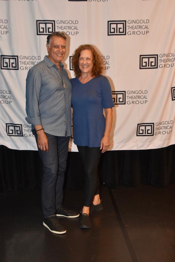 Robert Cuccioli and Karen Ziemba Photo