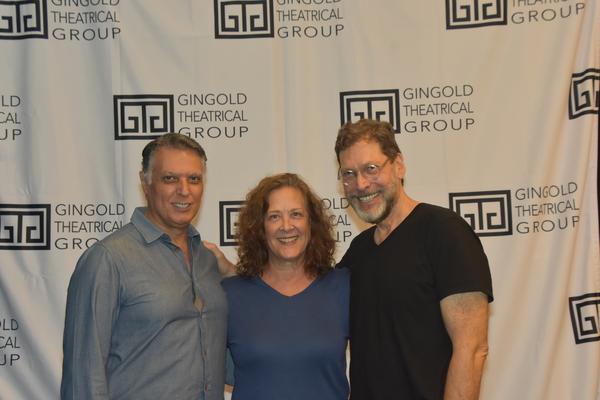 Robert Cuccioli, Karen Ziemba and David Staller Photo