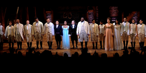 HAMILTON Cast Takes a Bow on its Re-Opening Night Video