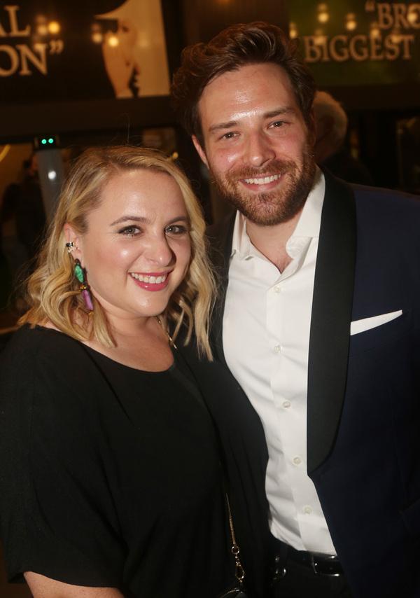 Megan Kane and Ben Rappaport  Photo