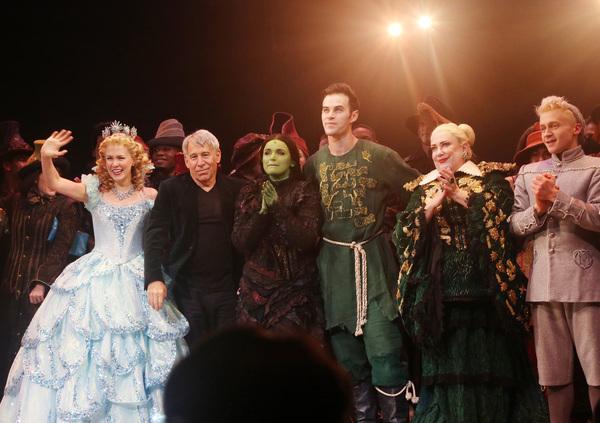 Ginna Claire Mason, Stephen Schwartz. Lindsay Pearce, Sam Gravitte, Kathy Fitzgerald, Photo