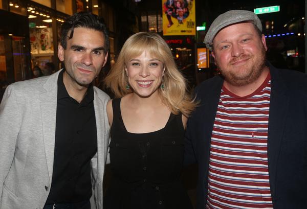 Joe Iconis, Lauren Marcus  and Jason SweetTooth Williams  Photo