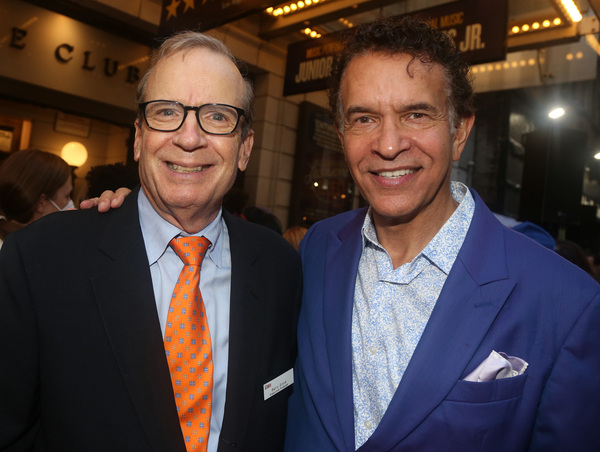 Barry Grove and Brian Stokes Mitchell  Photo