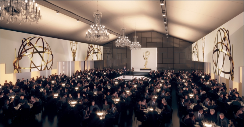 Television Academy Reveals First Look at the Emmy Awards Stage Design