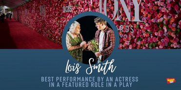 THE INHERITANCE's Lois Smith Wins 2020 Tony Award for Best Performance by an Actress in a Photo