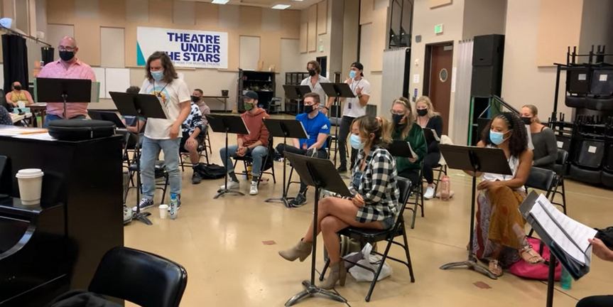 VIDEO: Get a First Look at Rehearsals for ROCK OF AGES at Theatre Under The Stars Photo