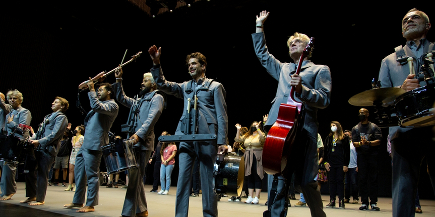 VIDEO: Go Inside AMERICAN UTOPIA's Broadway Re-Opening Night Photo