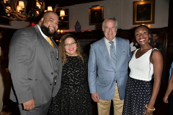 Nilon Johnson,  Tatyana-Marie Carlo, Stewart Lane, Lanise Antoine Shelley Photo