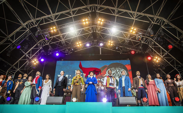 Photos: HAMILTON, FROZEN, and More Perform at WEST END LIVE 2021