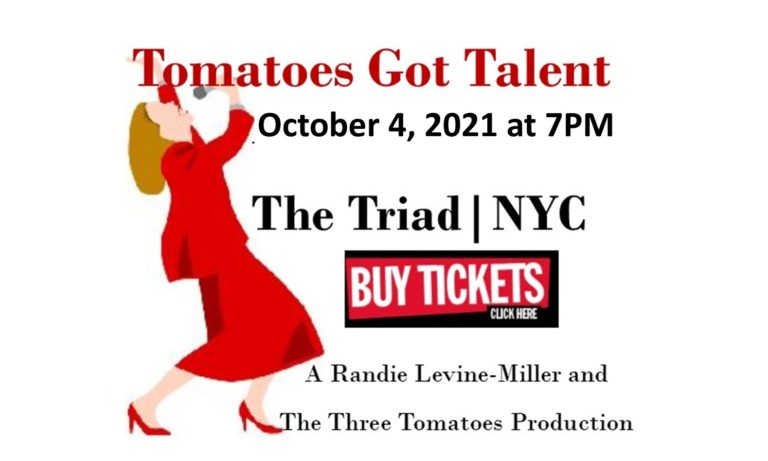 TOMATOES GOT TALENT Contest Plays Seventh Year At The Triad On October 4th
