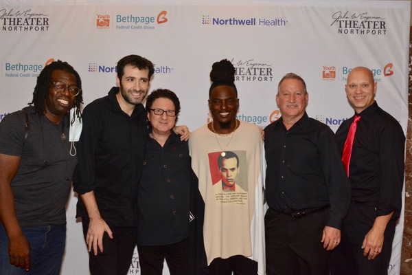 Musical Director Jaret Landon and tonight's band-Darnell White, Joel Levy, Gary Meyer Photo