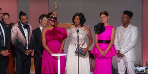 HAMILTON Accepts Emmy for Outstanding Variety Special Video