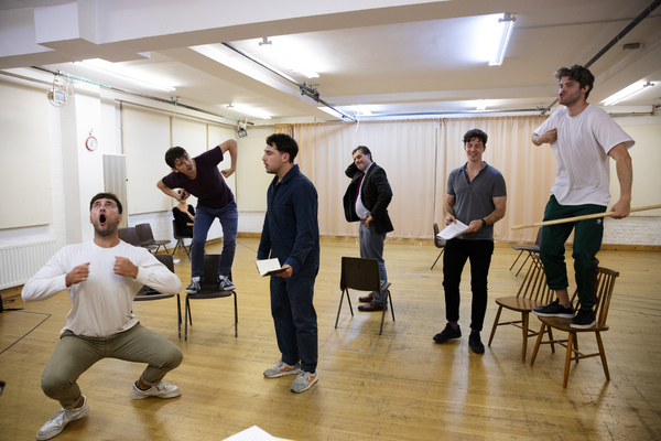 Photos: Go Inside Rehearsals for the World Premiere of INTO BATTLE