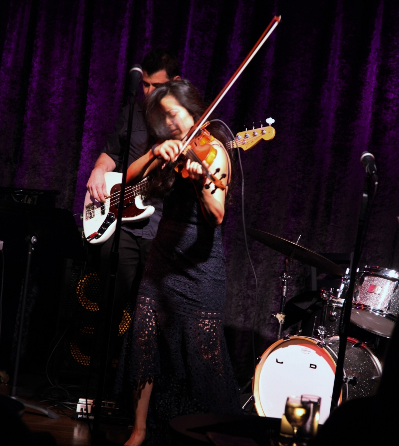 BWW Review: Marissa Licata STRINGS ON FIRE at Birdland Theater Is A Show Aptly Named