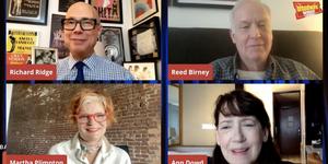 Ann Dowd, Martha Plimpton & Reed Birney Talk MASS on Backstage LIVE with Richard Ridg Video