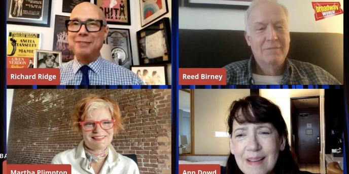 VIDEO: Ann Dowd, Martha Plimpton & Reed Birney Talk MASS on Backstage LIVE with Richard Ri Video