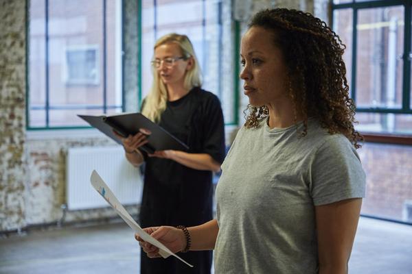 Photos: Inside Rehearsal For MUM, StarringSophie Melville, Denise BlackandCat Simmons