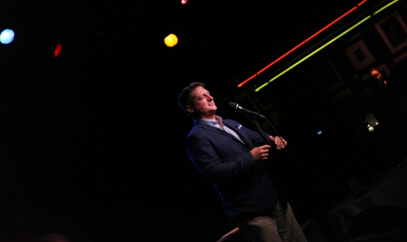 """Photo Flash:  THE BROADWAY CAST OF COMPANY BENEFIT CONCERT FOR """"DARKNESS RISING"""" at Birdland Theater"""