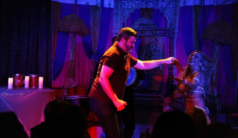 BWW Review: BELLY DANCE EXTRAVAGANZA HOSTED BY HANNAH Shakes Things Up At Don't Tell Mama
