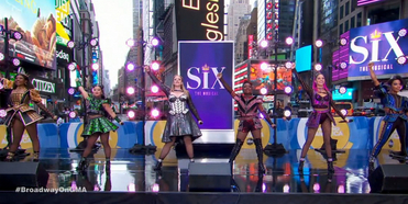 VIDEO: The Queens of SIX Perform Medley of 'Ex-Wives' and 'Six' on GOOD MORNING AMERICA Photo