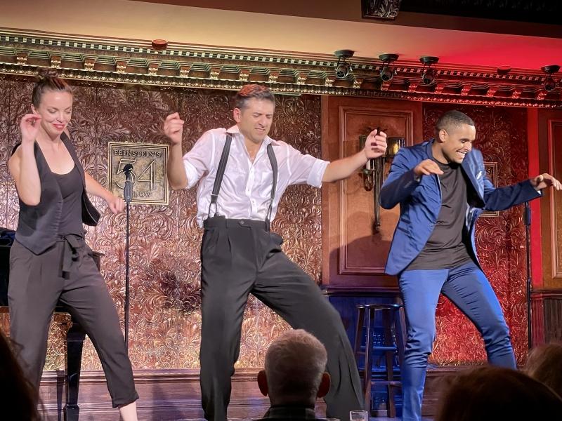 BWW Review: TONY YAZBECK Gloriously Dances Through Life at 54 Below