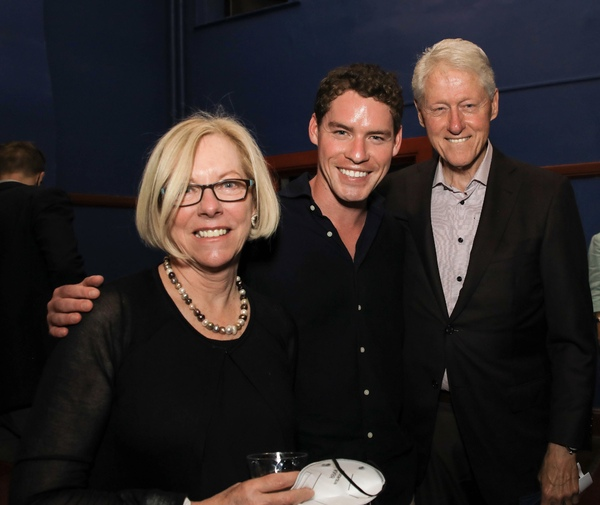 Photos: President Bill Clinton Attends WAITING FOR LEFTY Reading at The Neighborhood Playhouse