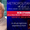 BWW Review: BOB O'HARE - IT'S A NEW WORLD - A GREAT SONG COLLECTION at MetropolitanZoom Photo