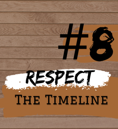 Student Blog: Summer Stock Central: Step #8  Respect The Timeline + Farewell