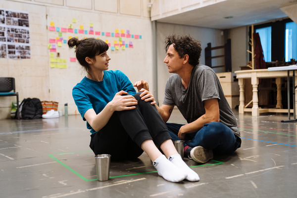 Photos: Go Inside Rehearsals for LOVE AND OTHER ACTS OF VIOLENCE at the Donmar Warehouse