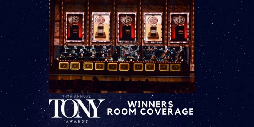 2020 Tony Awards: Live Reactions from Inside the Winner's Circle! Photo