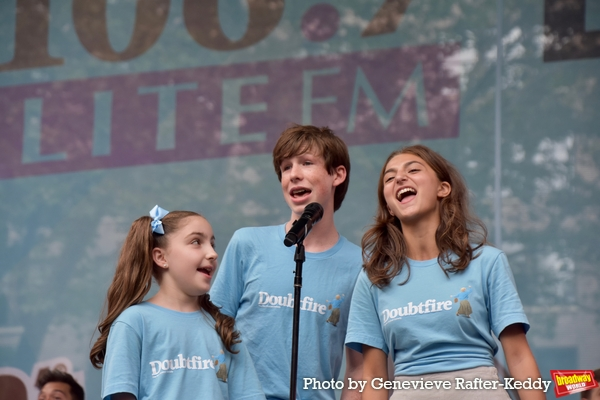 Photos: Broadway in Bryant Park Returns with the Casts of DEAR EVAN HANSEN, SIX, DIANA and More