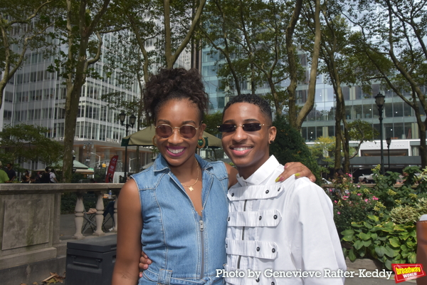 Ayana George and Myles Frost Photo