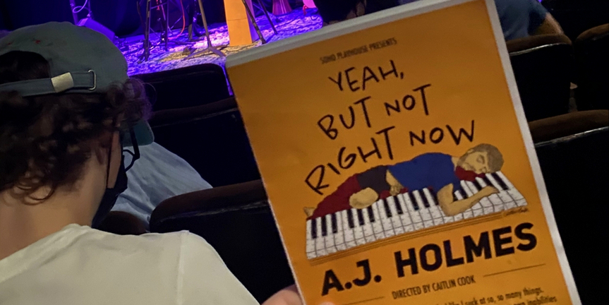 Student Blog: Yeah, But Not Right Now by A.J. Holmes Photo