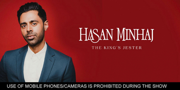 Hasan Minhaj Second Show Added At DPAC in February Photo