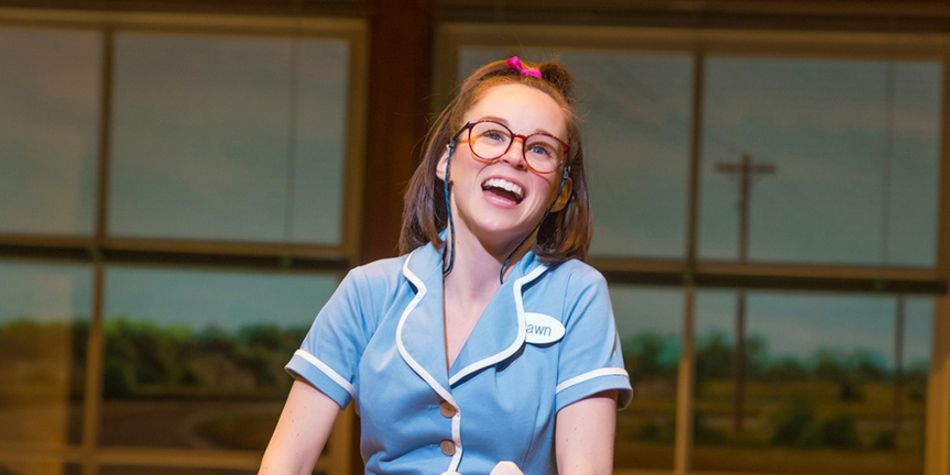 Back On Broadway: Caitlin Houlahan on Returning to WAITRESS, Her Favorite Moment in the Sh Photo