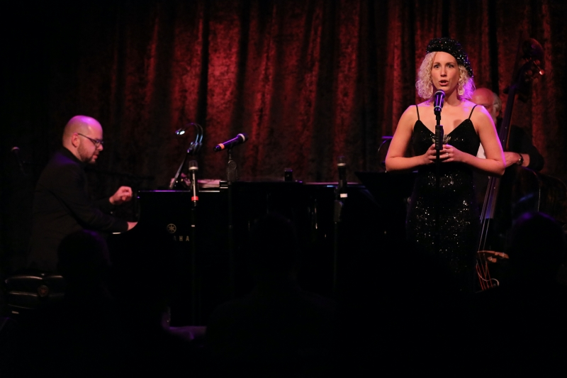 Photo Flash: Stewart Green Captures September 21st THE LINEUP WITH SUSIE MOSHER at Birdland Theater For Eternity