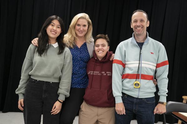 Jocelyn Shek, Cassie Beck, Emilyn Toffler, Mike Iveson Photo